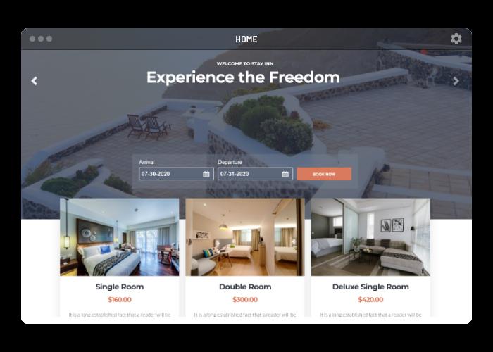Hotel/Restaurant Website Builder